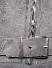Abercrombie & Fitch - ANF WOMENS OUTERWEAR - faux fur - med grey flat - 6