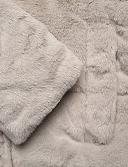 Abercrombie & Fitch - ANF WOMENS OUTERWEAR - faux fur - light grey flat - 4