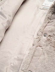 Abercrombie & Fitch - ANF WOMENS OUTERWEAR - faux fur - light grey flat - 5