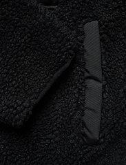 Abercrombie & Fitch - Dad Fleece Coat - sweatshirts - black dd - 4