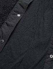 Abercrombie & Fitch - Dad Fleece Coat - sweatshirts - black dd - 5