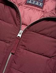 Abercrombie & Fitch - Packable Puffer Coat - gefütterte & daunenjacken - burgundy dd - 6