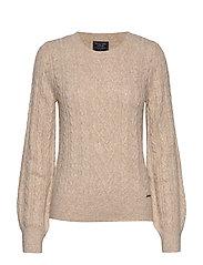 Cable Sweater - CREAM