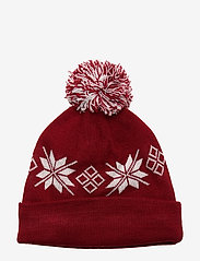 Abercrombie & Fitch - Intarsia Beanie - mutsen - red pattern - 1