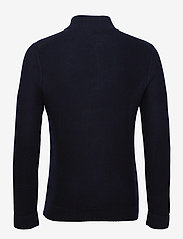 Abercrombie & Fitch - ANF MENS SWEATERS - half zip - navy - 1