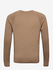 Abercrombie & Fitch - ICON CREW - tricots basiques - light brown dd - 1