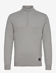 ANF MENS SWEATERS - MED GREY FLAT