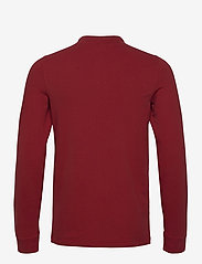 Abercrombie & Fitch - ANF MENS KNITS - half zip - red - 1