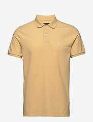 Abercrombie & Fitch - Core Polo - lyhythihaiset - yellow dd - 0