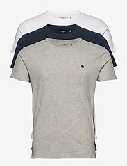 Abercrombie & Fitch - ANF MENS KNITS - multipack - med grey flat - 0
