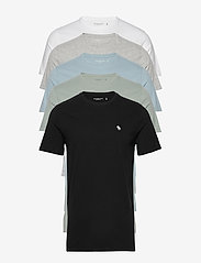 Abercrombie & Fitch - Crew Multipack - multipack - black dd - 0