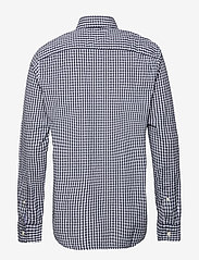 Abercrombie & Fitch - Gingham Poplin - checkered shirts - med blue pattern - 1