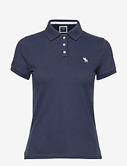 Abercrombie & Fitch - Polo - poloshirts - med blue dd - 0