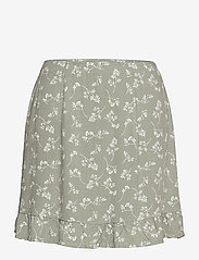ANF WOMENS SKIRTS - GREEN FLORAL