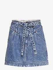 Abercrombie & Fitch - Button Front Skirt - kurze röcke - light - 0
