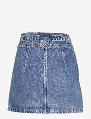 Abercrombie & Fitch - Button Front Skirt - kurze röcke - light - 1