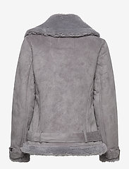 Abercrombie & Fitch - ANF WOMENS OUTERWEAR - faux fur - med grey flat - 2