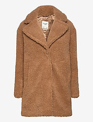 Abercrombie & Fitch - ANF WOMENS OUTERWEAR - faux fur - light brown dd - 0