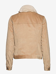Abercrombie & Fitch - Corduroy Trucker with Sherpa Collar - jeansjacken - light brown dd - 2