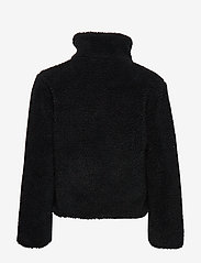 Abercrombie & Fitch - Dad Fleece Coat - sweatshirts - black dd - 2