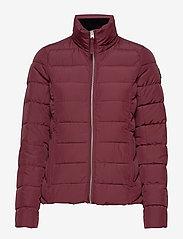 Abercrombie & Fitch - Packable Puffer Coat - gefütterte & daunenjacken - burgundy dd - 2