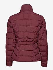 Abercrombie & Fitch - Packable Puffer Coat - gefütterte & daunenjacken - burgundy dd - 4