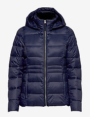 Abercrombie & Fitch - Packable Puffer Coat - forede jakker - navy dd - 1