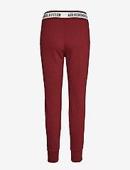 Abercrombie & Fitch - Rib Waist Jogger - verryttelyhousut - dark red dd - 1