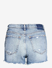 Abercrombie & Fitch - ANF WOMENS SHORTS - jeansshorts - medium destroy hr mom - 1