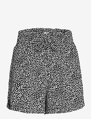 Abercrombie & Fitch - ANF WOMENS SHORTS - shorts casual - rayon pull on short black dot - 0