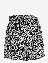 Abercrombie & Fitch - ANF WOMENS SHORTS - shorts casual - rayon pull on short black dot - 1