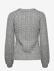 Abercrombie & Fitch - Cable Crewneck - neulepuserot - light grey sd/texture - 1