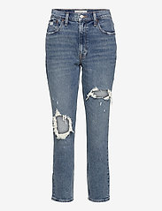 Abercrombie & Fitch - ANF WOMENS JEANS - boyfriend jeans - medium destroy - 0
