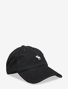 Twill Icon Cap - BLACK DD