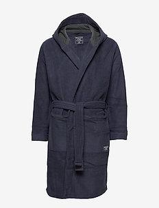 Fleece Robe - NAVY DD
