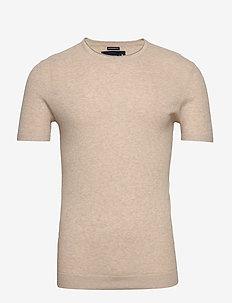 Sweater - basic t-shirts - light brown dd