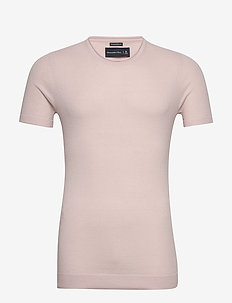 Sweater Tee - basic-strickmode - light pink dd