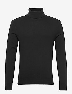 ANF MENS SWEATERS - tricots basiques - black dd