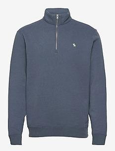 ANF MENS SWEATSHIRTS - sweats basiques - blue