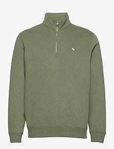 ANF MENS SWEATSHIRTS - sweats basiques - green