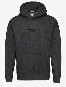 ANF MENS SWEATSHIRTS - basic sweatshirts - med grey pattern