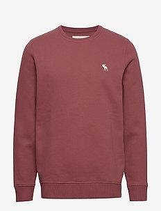 Icon Crew - basic sweatshirts - burgundy dd