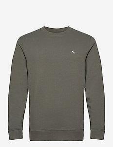 ICON CREW - basic-sweatshirts - green dd