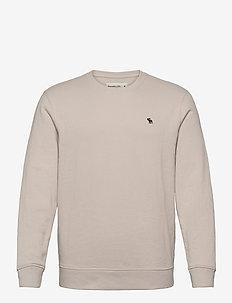 ICON CREW - basic-sweatshirts - light grey