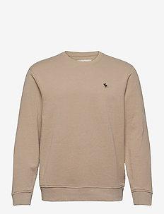 ICON CREW - basic-sweatshirts - light brown dd