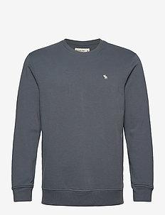 ICON CREW - basic-sweatshirts - med blue dd