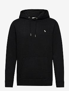 ANF MENS SWEATSHIRTS - basic sweatshirts - black dd