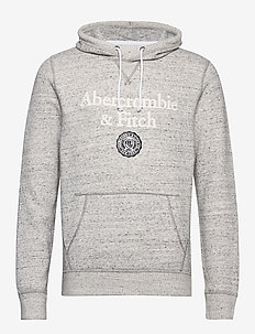Sweatshirt Logo - MED GREY SD/TEXTURE