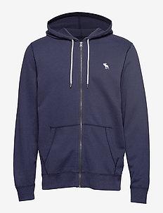 Sweatshirt Icon Fullzip - NAVY DD