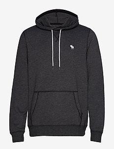 Sweatshirt Trim Icon Popover - BLACK DD